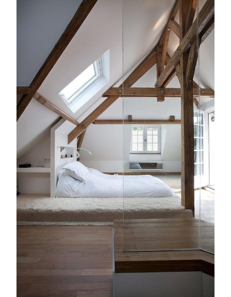 mooi de balken in de kamer | Slaapkamer | Pinterest | Schlafzimmer