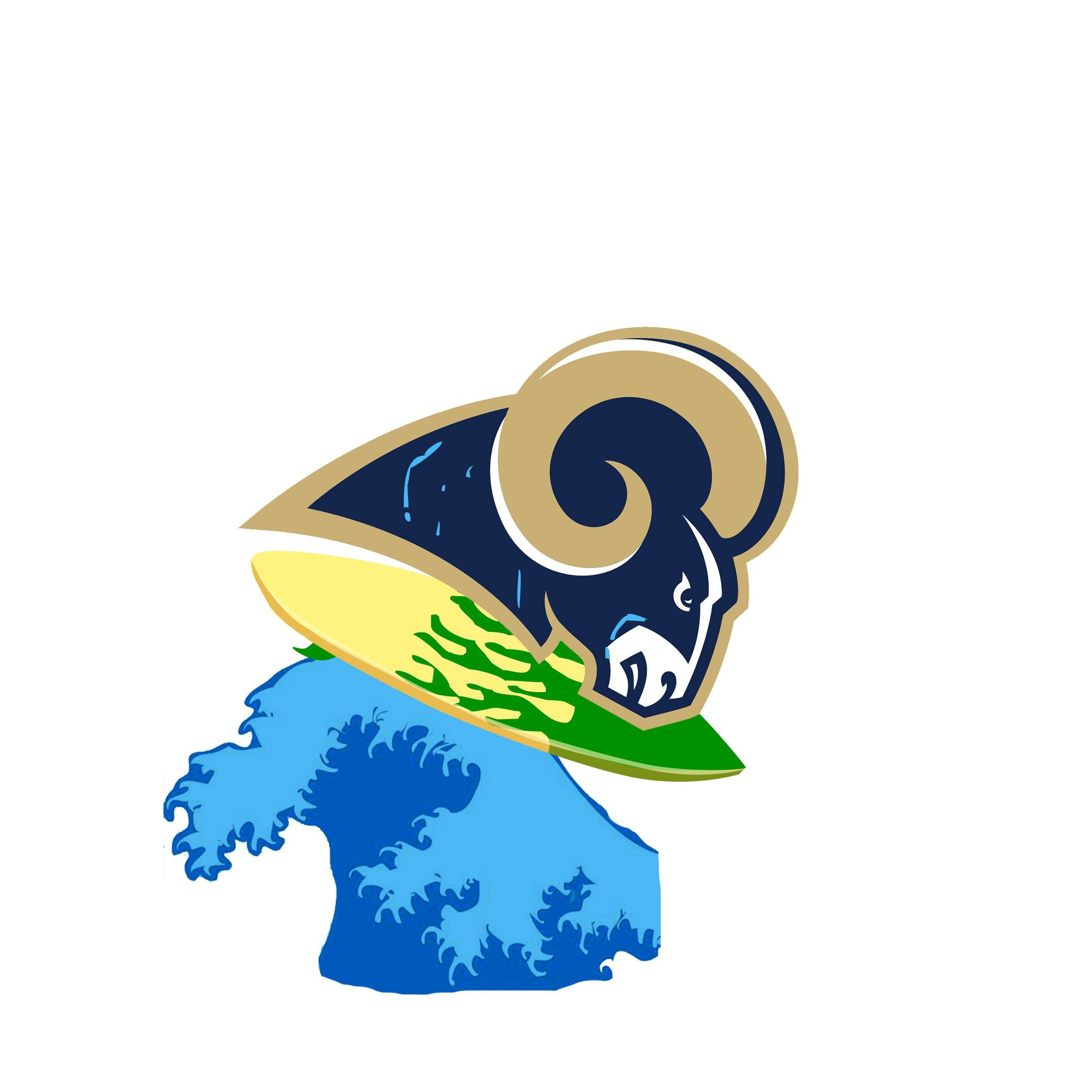 The SiriusXM Sports guide to a new Los Angeles Rams logo