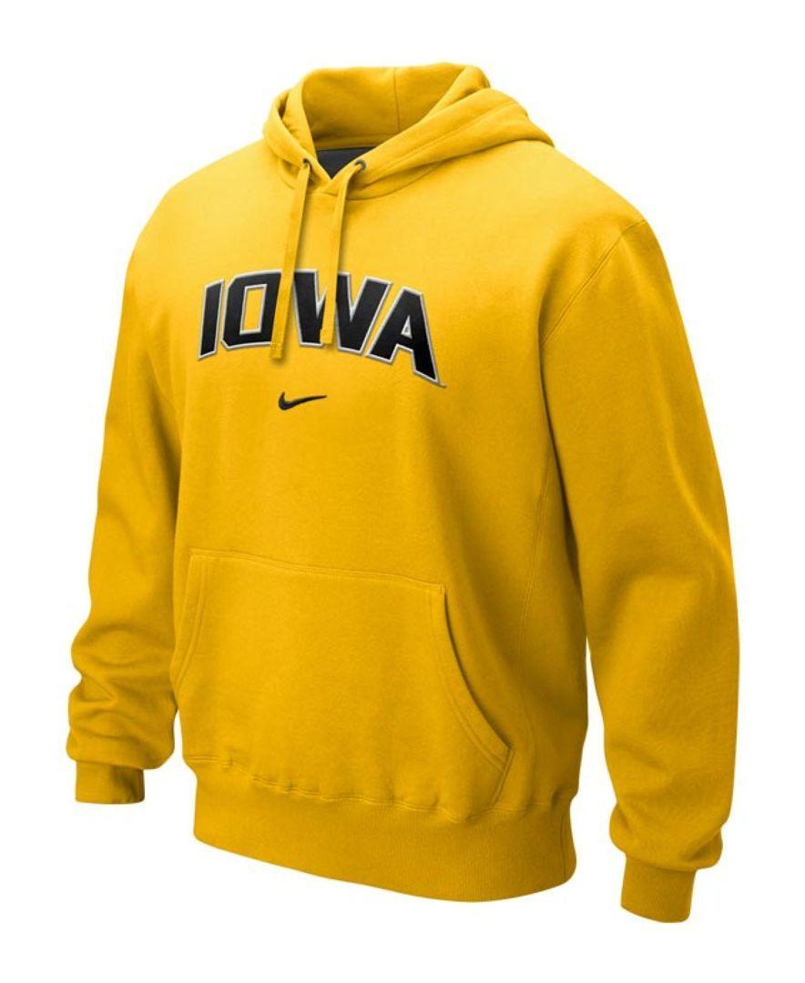 9f7825979748 Nike Men s Iowa Hawkeyes Classic Arch Hoodie