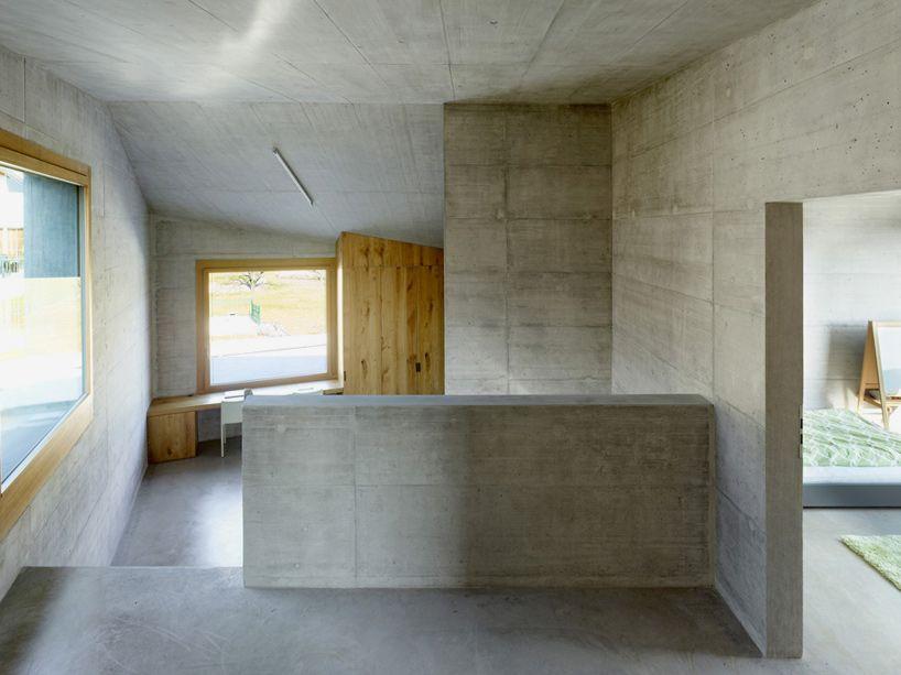 Innenarchitektur Eglisau savioz fabrizzi architectes maison fabrizzi conthey switzerland