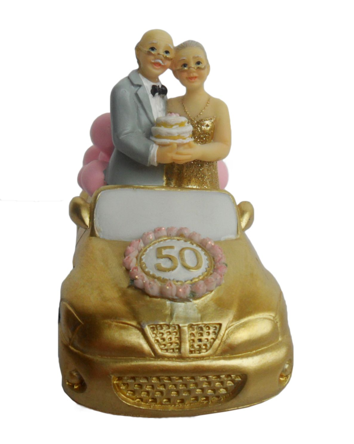 Th anniversary cake topper resin size cm us th