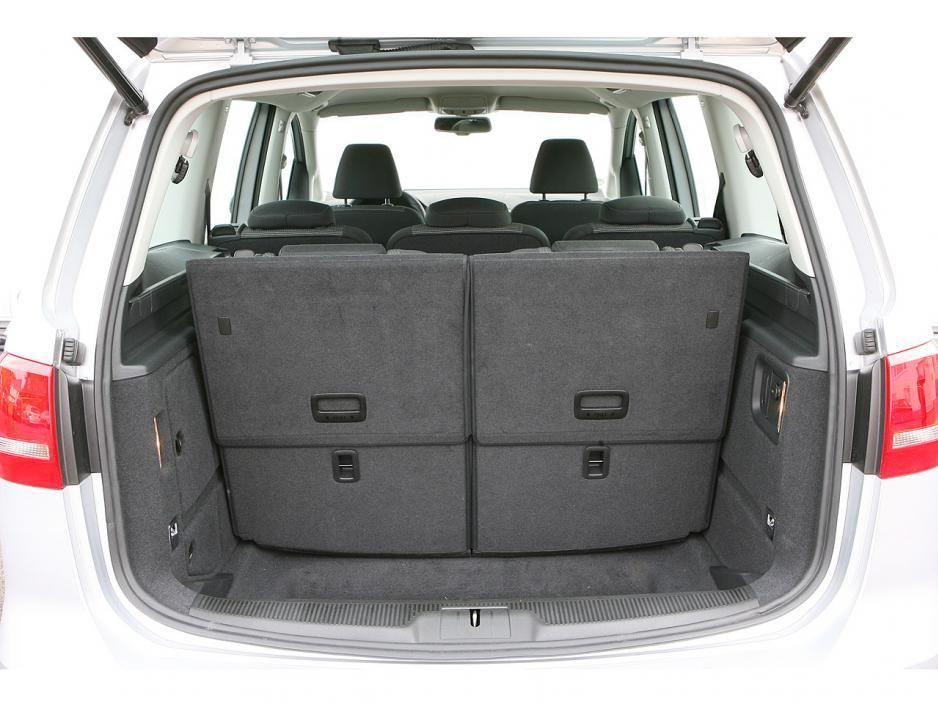 Kofferraum Siebensitzer Volkswagensharan Suv Car Car