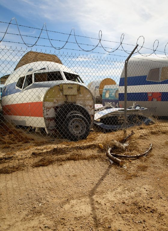24 Photos of the Mojave Desert's Airplane Graveyard | Travel