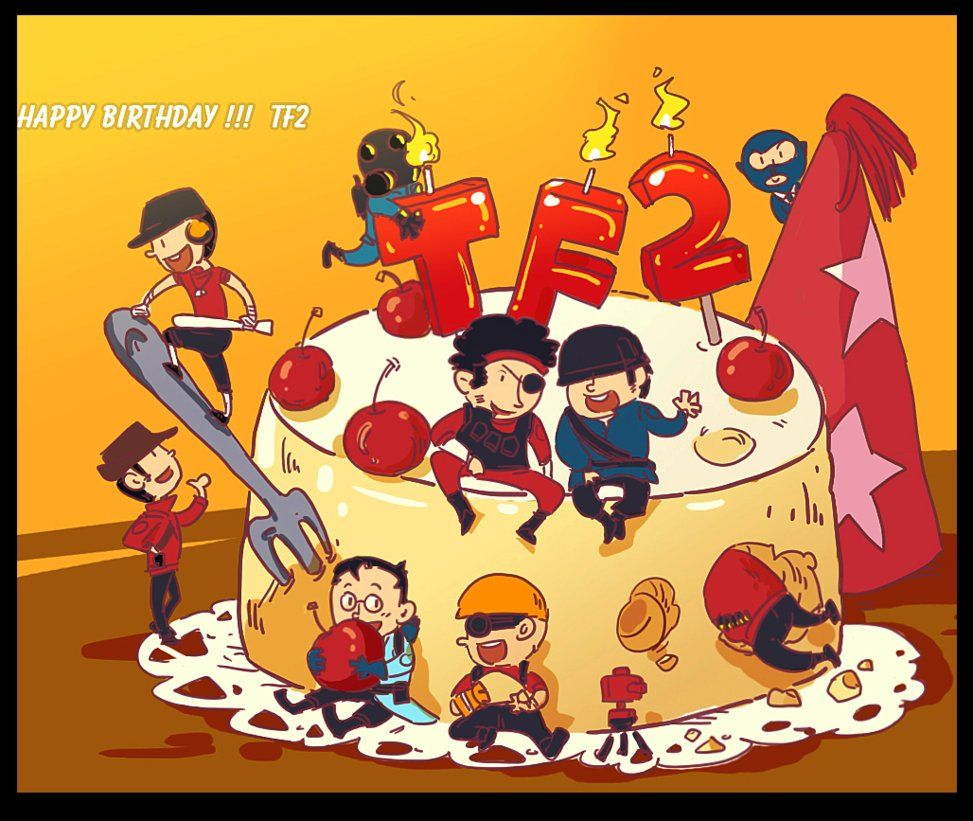 TF2 Happy birthday TF2 by biggreenpepper on DeviantArt – Tf2 Birthday Card