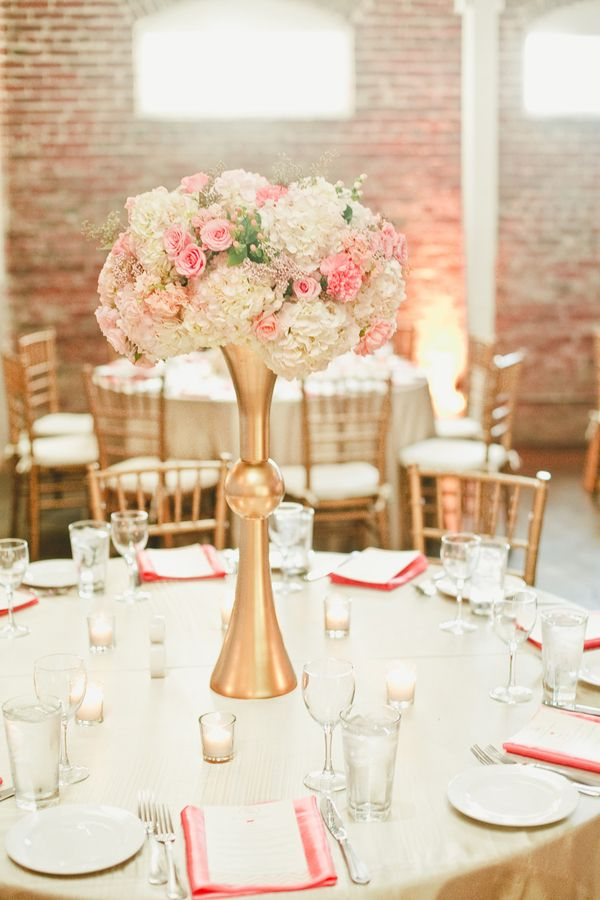 Pink Mint And Gold Wedding With Lots Of Sparkle