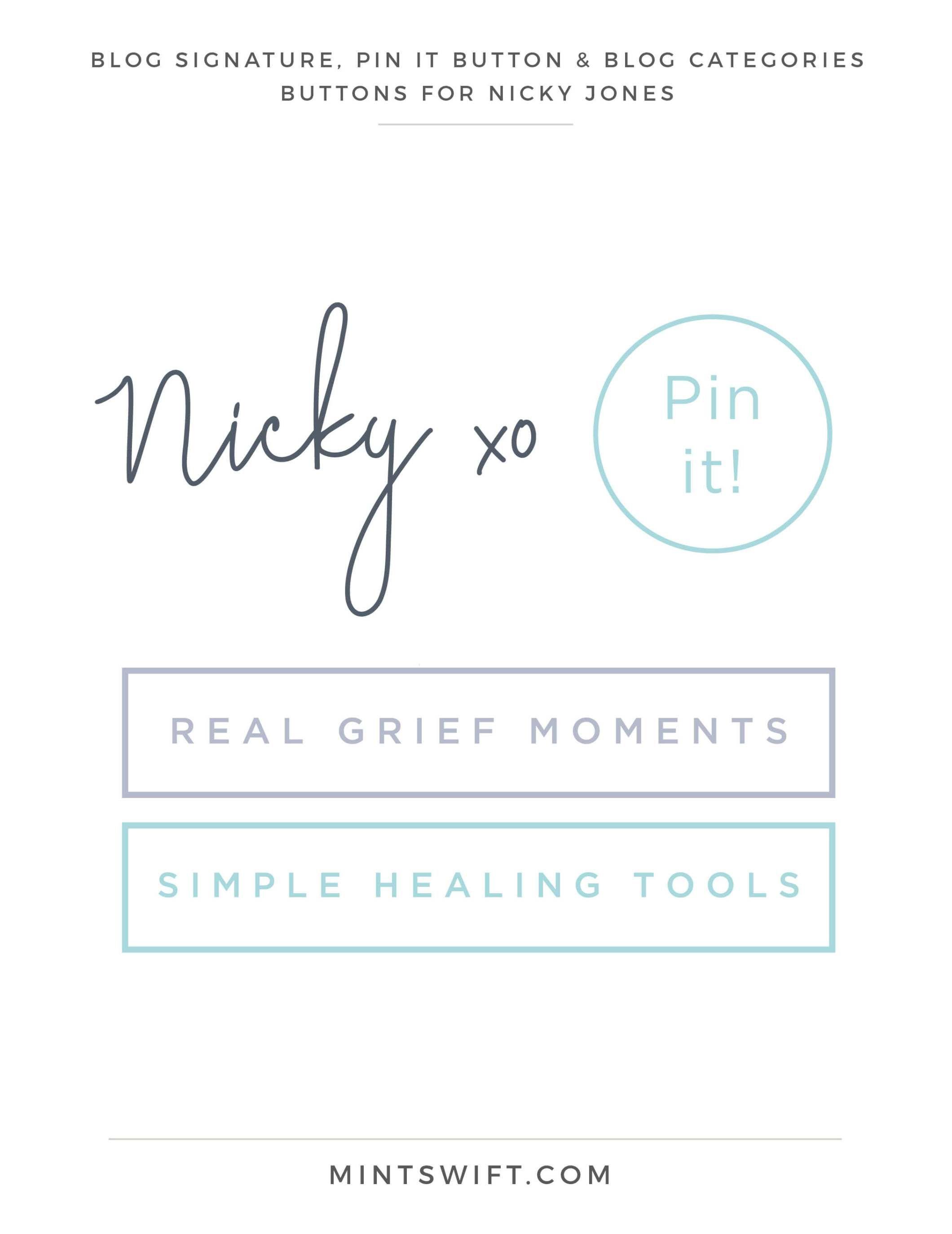 Brand Design For Nicky Jones - Brand Design - Brand