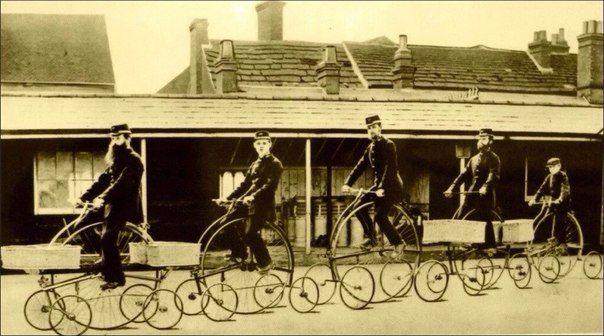 Английские почтальоны, 1882 г. | Старые фотографии, Ретро ...