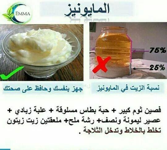عمل المايونيز Ramadan Recipes Save Food Cookout Food