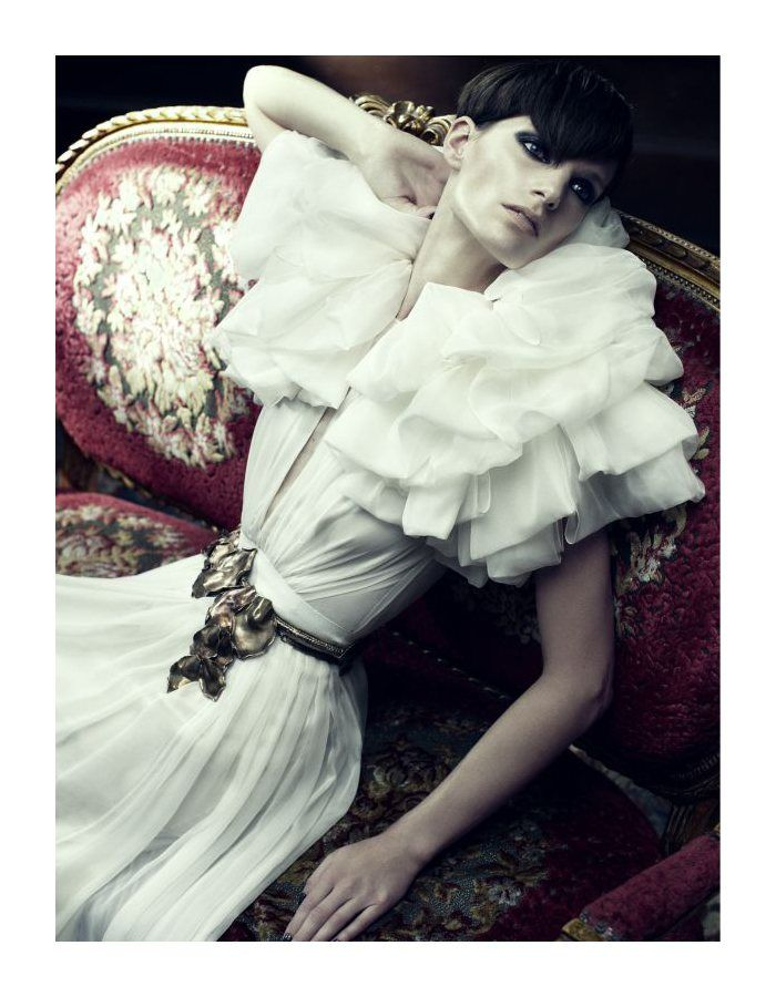 Iris Strubegger by Alexi Lubomirski for Vogue Germany September 2011