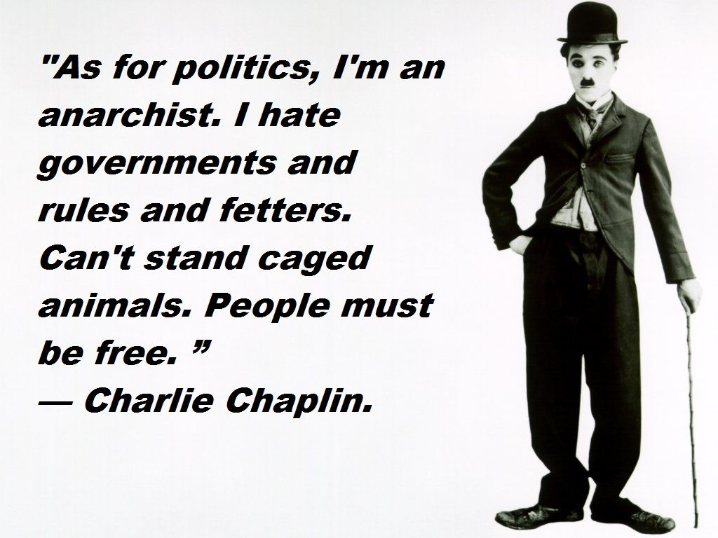 177 Best Political Quotes Images On Pinterest: Anarchist Kid And Charlie Chaplin : Anarchism