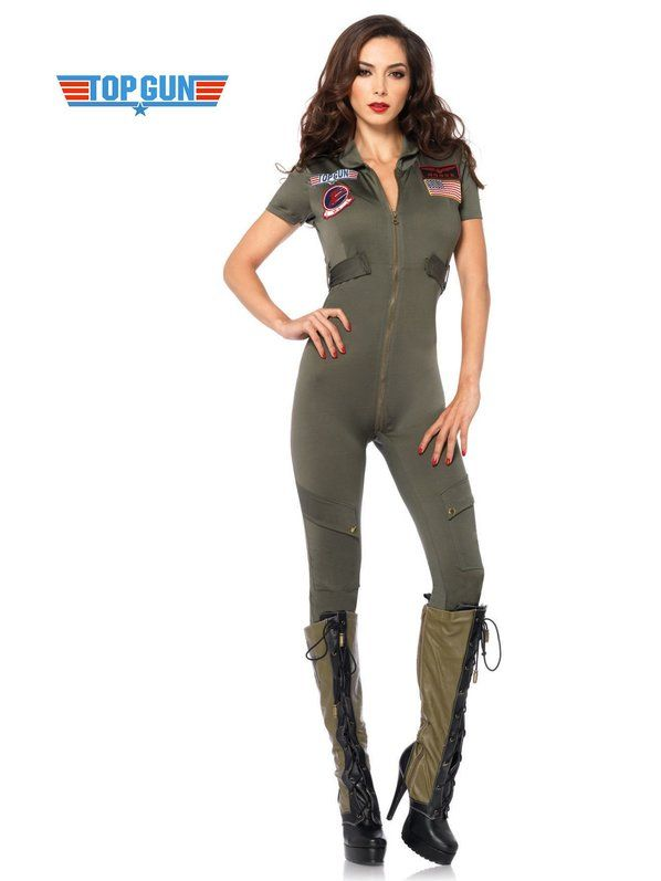 Check out Sexy Top Gun Flight Suit Costume - TV & Movie Costumes from…