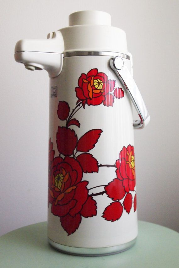 Completely new Zojirushi Beverage Dispenser Thermos-Japanese Thermos | Vintage  UH68