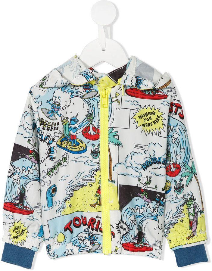 7cc4645ed Stella McCartney Josh hooded jacket   Products   Stella mccartney ...
