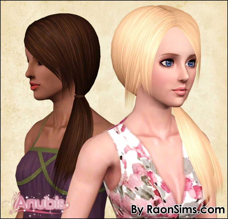 Anubis Under The Sun ♪: Raon Female Hair 80 ~ Fixed and Pooklet'd