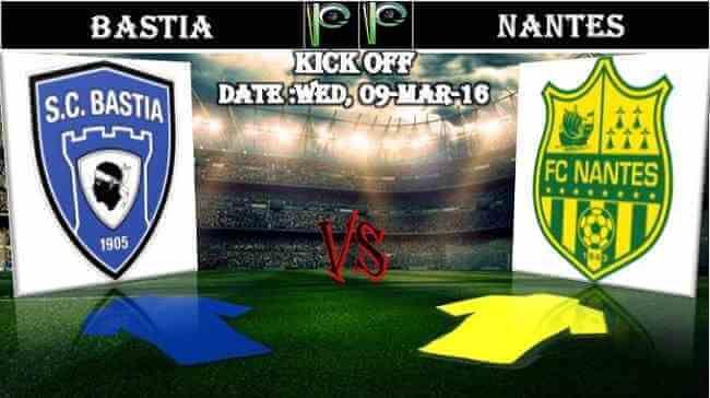 Bastia vs Nantes 09.03.2016 H2H and Predictions - PPsoccer