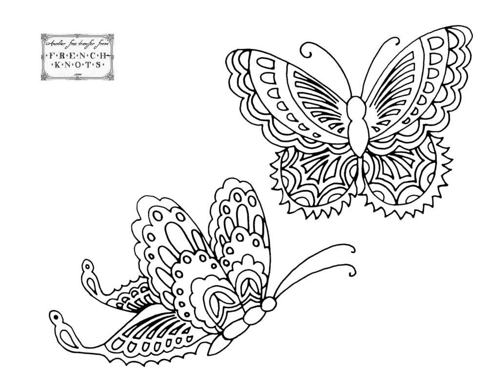 275 Best Coloring Butterflies Images On Pinterest