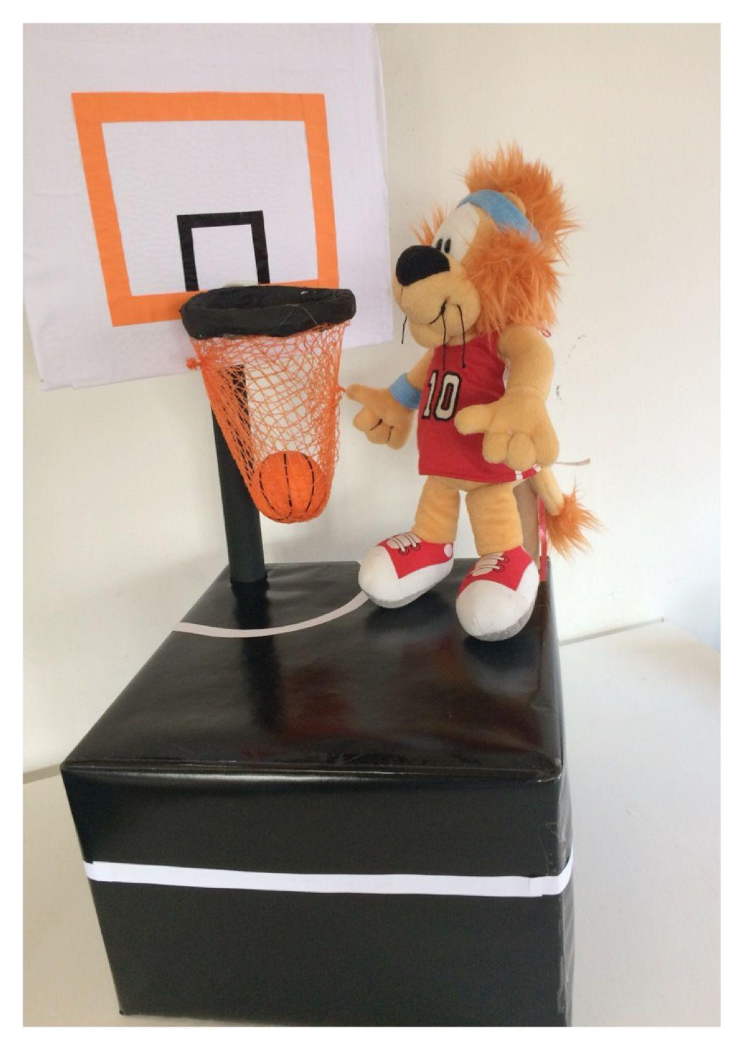 Sinterklaas surprise Basketbal basketballer www.sinterklaassurprises.jouwweb.nl