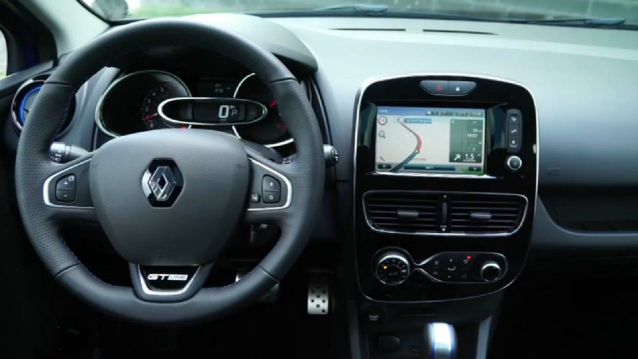 2017 Renault Clio Gt Line Interior And Exterior Renault Clio