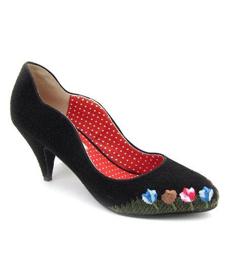 Black Hanoi Wavy Pump Cute Pumps Pumps Me Too Shoes