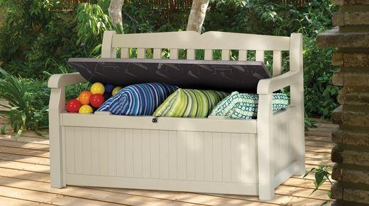 Eden Garden Bench Outdoor Storage Solutions Outdoor Storage