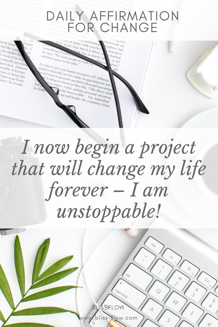 Change and transform your life with this affirmation  Sign up for