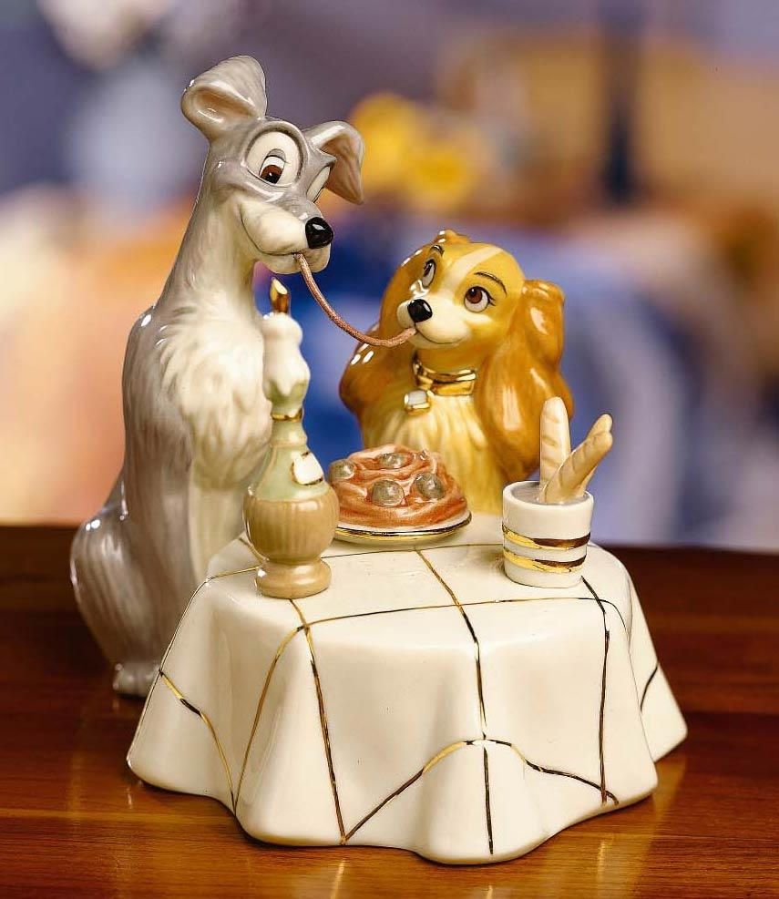 Lady and the tramp wedding disney wedding cake topper figurine lady and the tramp wedding disney wedding cake topper figurine lenox junglespirit Image collections