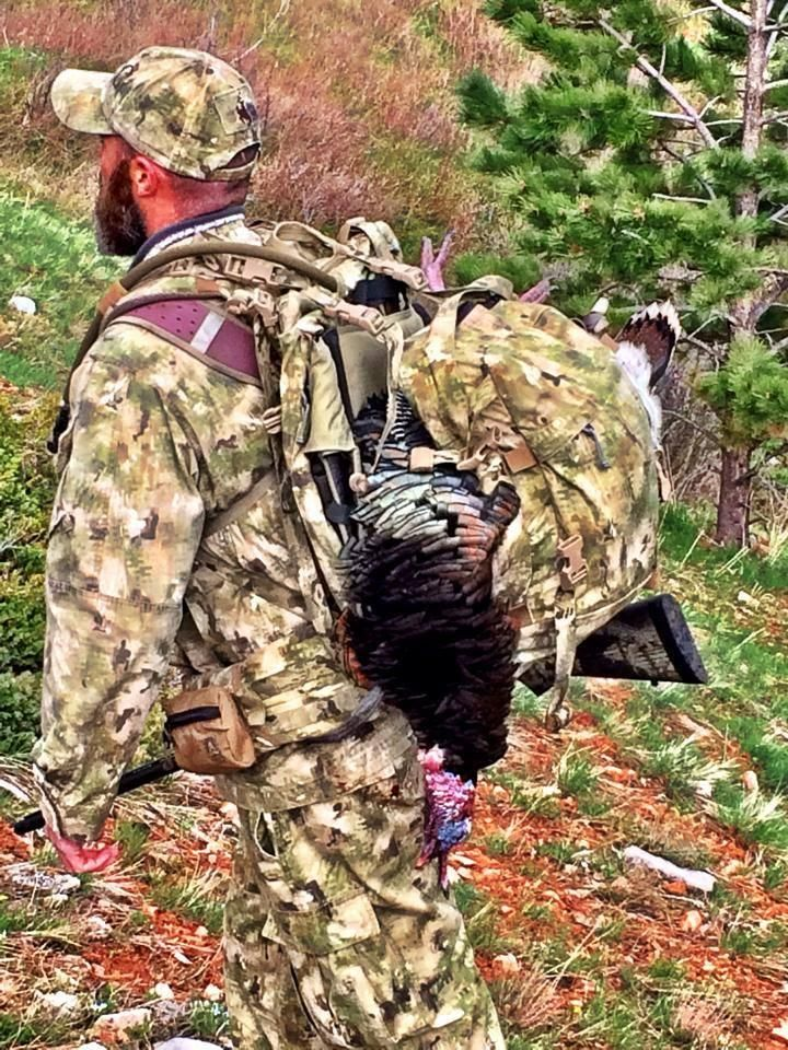Turkey Hunt In Wyoming Using Canis Lupus Wolf Pattern Camouflage