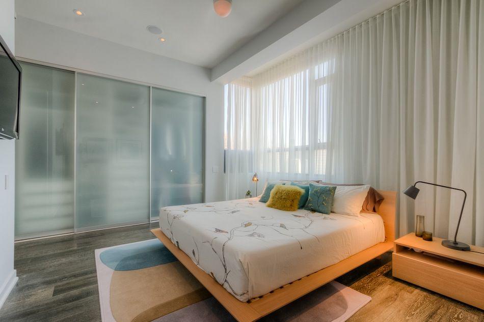 Master Bedroom Featuring 10 Foot Ceilings Wide Plank Hardwood Floors Massive Wall Closet Built In Clo Build A Closet Wide Plank Hardwood Floors Wall Closet