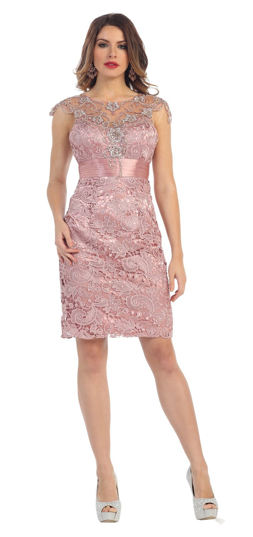 11de92951dd2 This simply elegant short dress features a cap sleeve