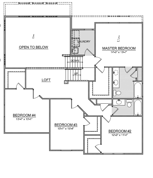 Manchester Floor Plan Multi Level Home Plans Ohio Floor Plans House Plans Trinity Homes