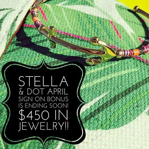 4 Days Left for our BIG April Sign On Special.  If you or anyone you know is interested in getting some free jewelry and a fun new full time or part time job, message me for more details kh617@yahoo.com