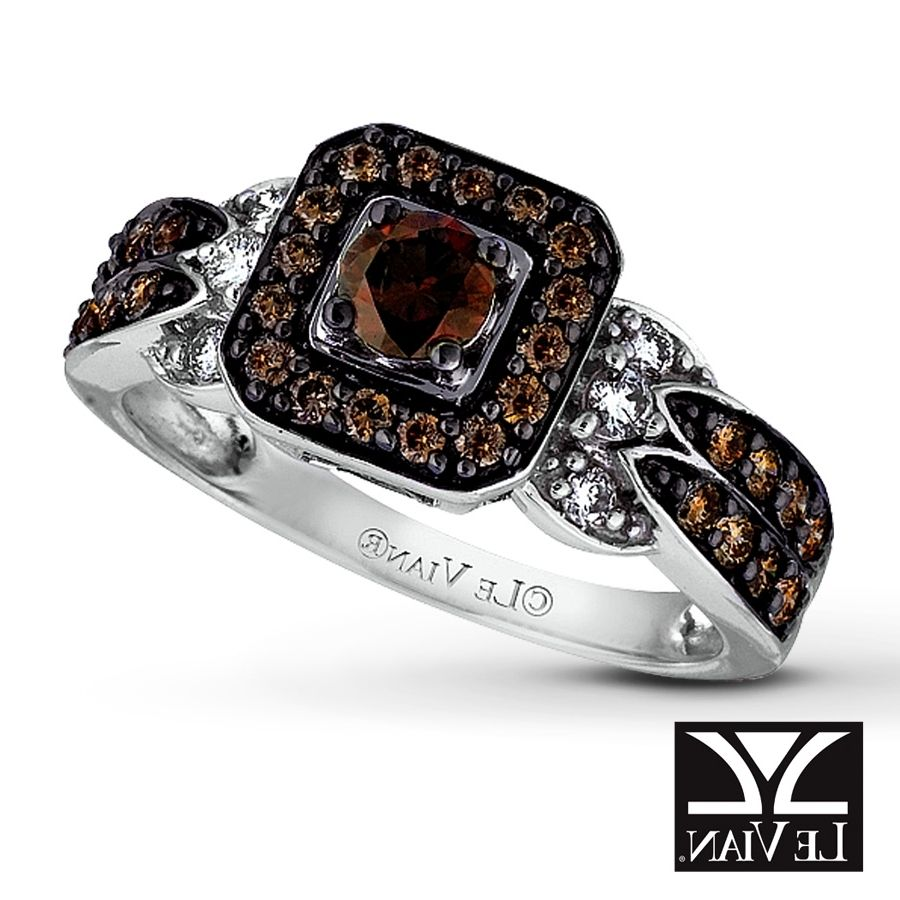 Zales Chocolate Diamond Ring