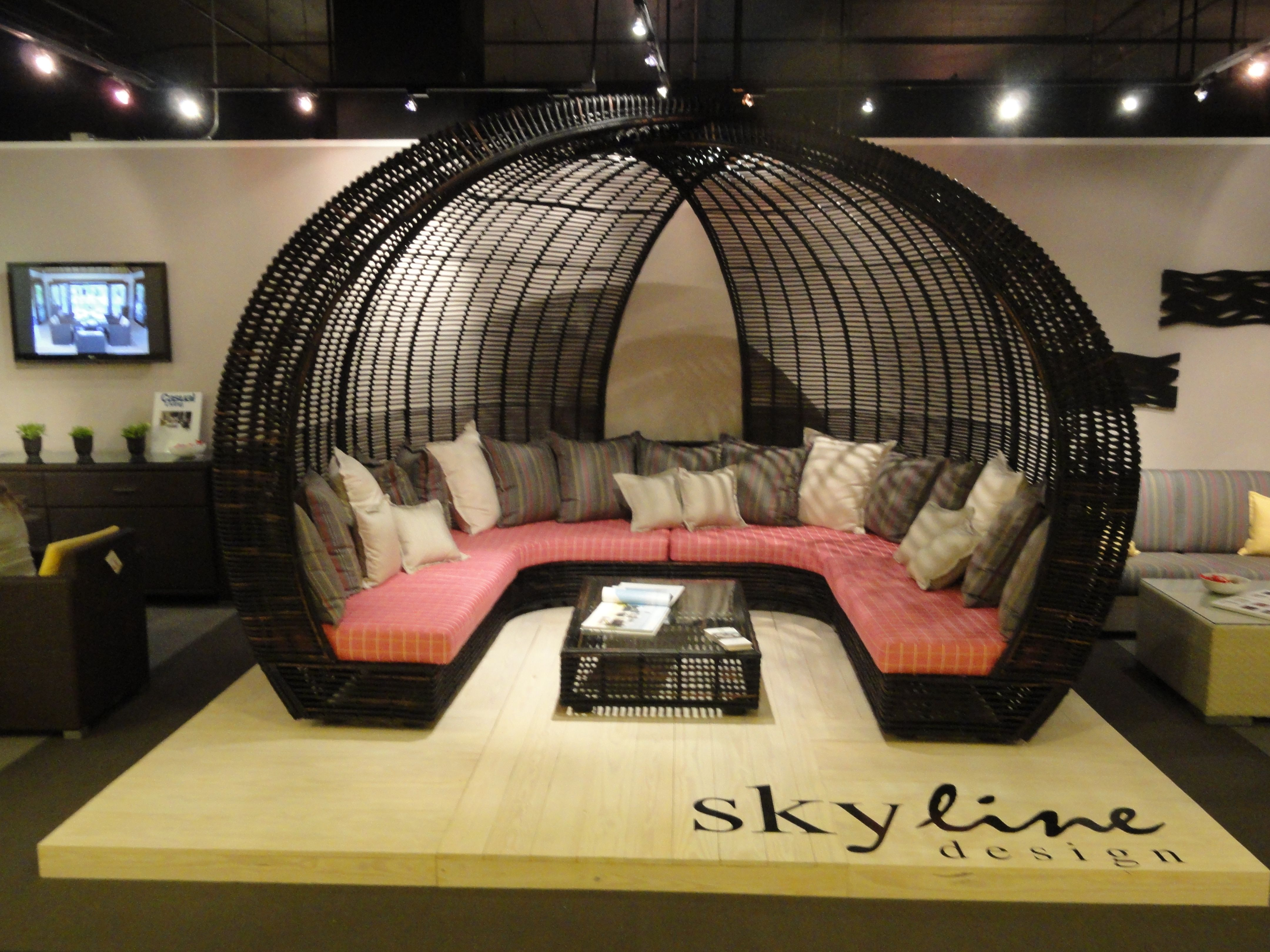 From Skyline Design The Sparta in Black Mushroom and ... on Sparta Outdoor Living id=15550