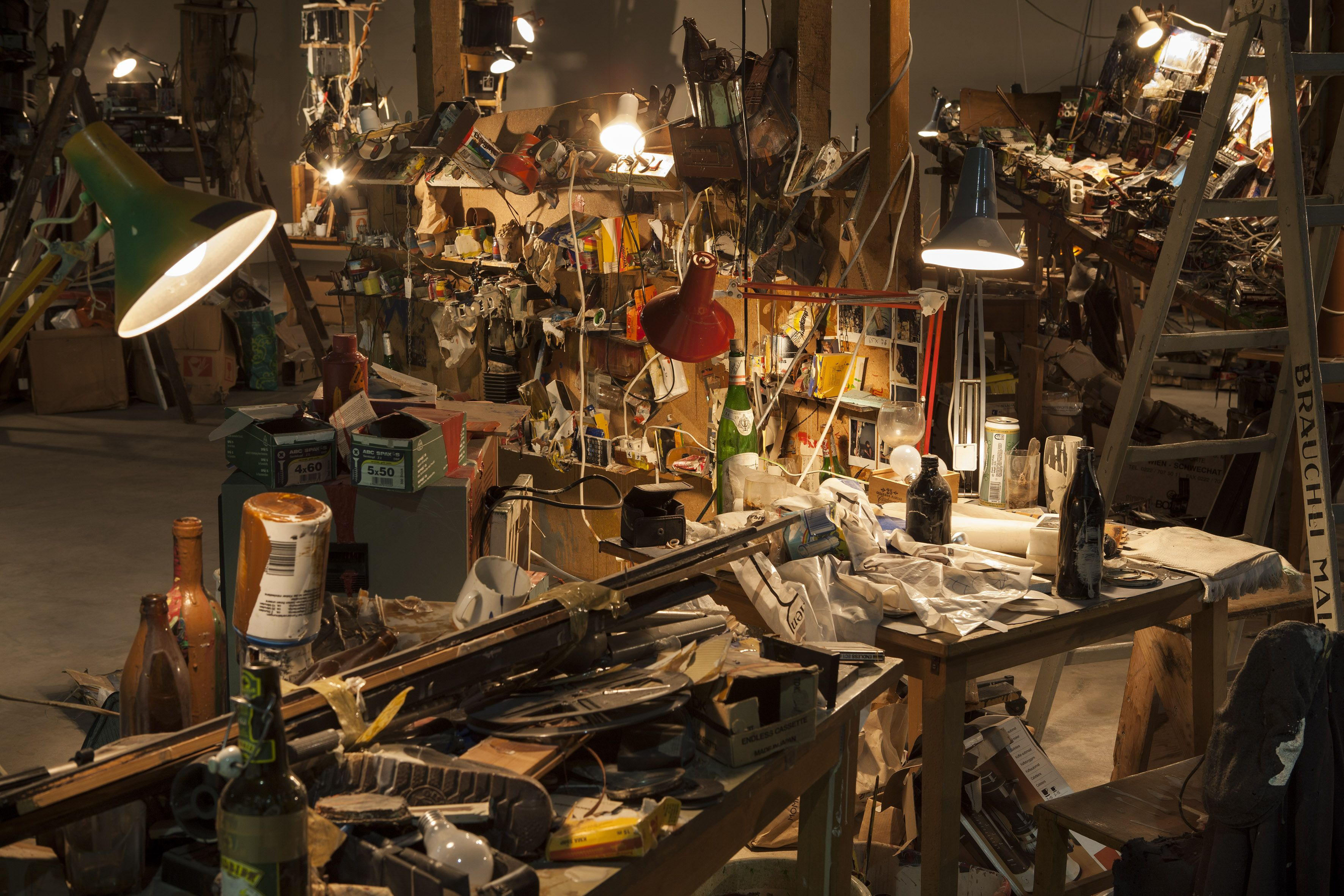 Dieter Roth & Björn Roth - Islands - veduta della mostra presso HangarBicocca Milano 2013 - photo Agostino Osio - Courtesy Fondazione Hangar...