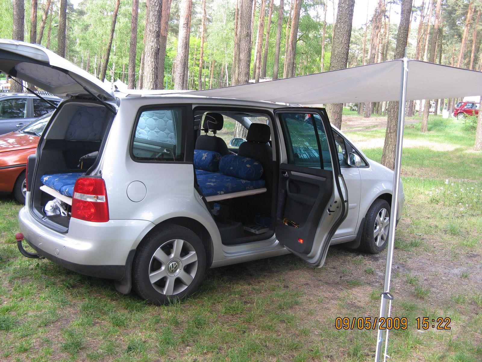 Private Homepage Familie Foschum Camping Ausbau Volkswagen Touran Campingbus Ausbau