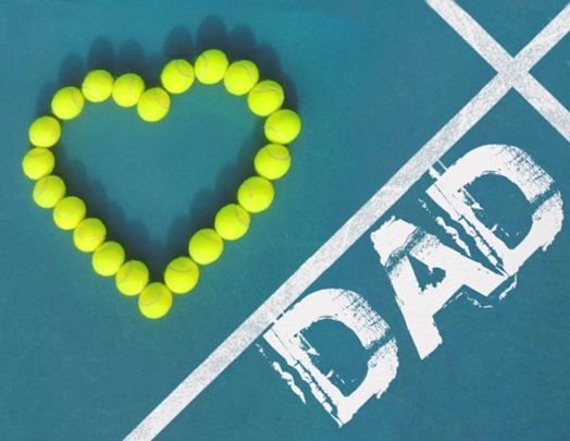 Happy Fathers Day Happy Fathers Day Tennis Tennis Lessons