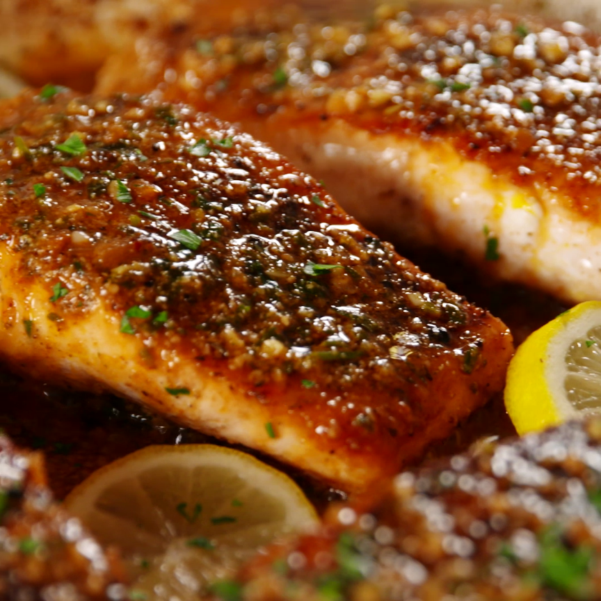 Cajun Parmesan Salmon Is Just The Kick You Need