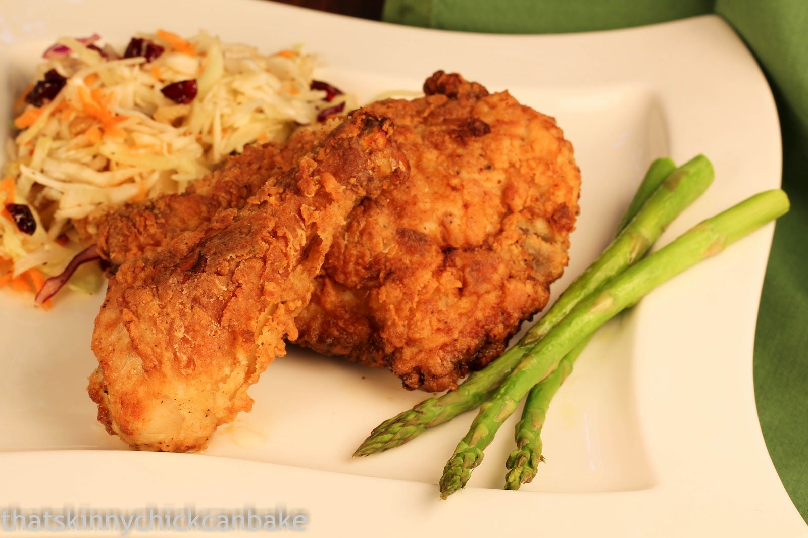 That skinny chick can bake!!!: Southern Fried Chicken...Crazy Cooking Challenge~