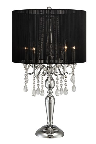 The liza table lamp black from urban barn is a unique home décor item bedside table lampsnightstand