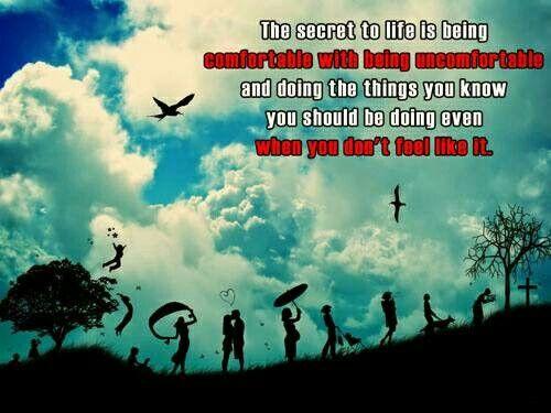 The secret to life.
