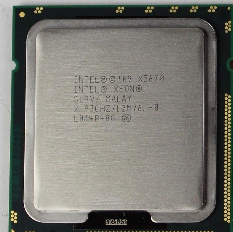Intel Xeon X5670 2 93GHz 6-Core Server CPU LGA1366 12MB SLBV7