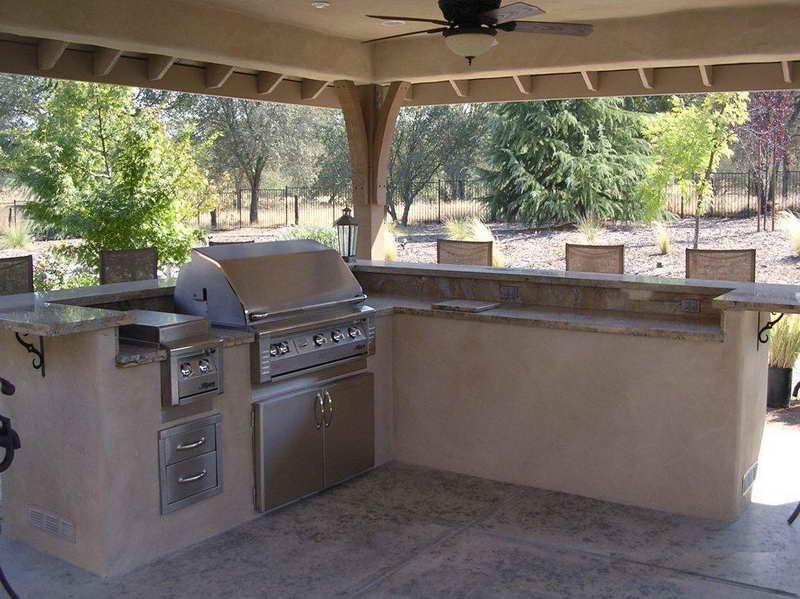 Überdachte Outdoor Küche Designs | Küche | Pinterest | Beautiful ...