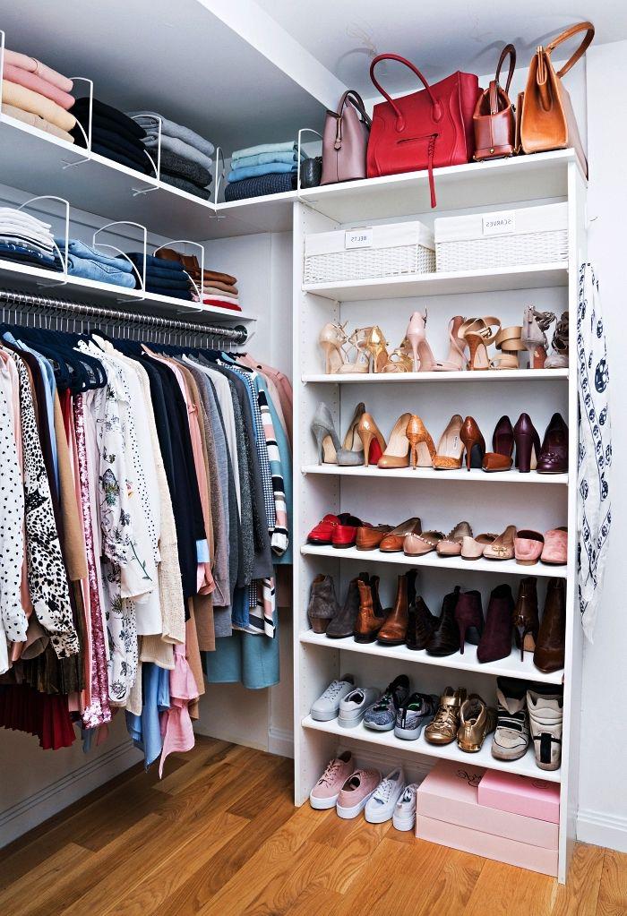 1001 + idées pour aménager un dressing à chaussures (avec images)   Dressing fait maison ...