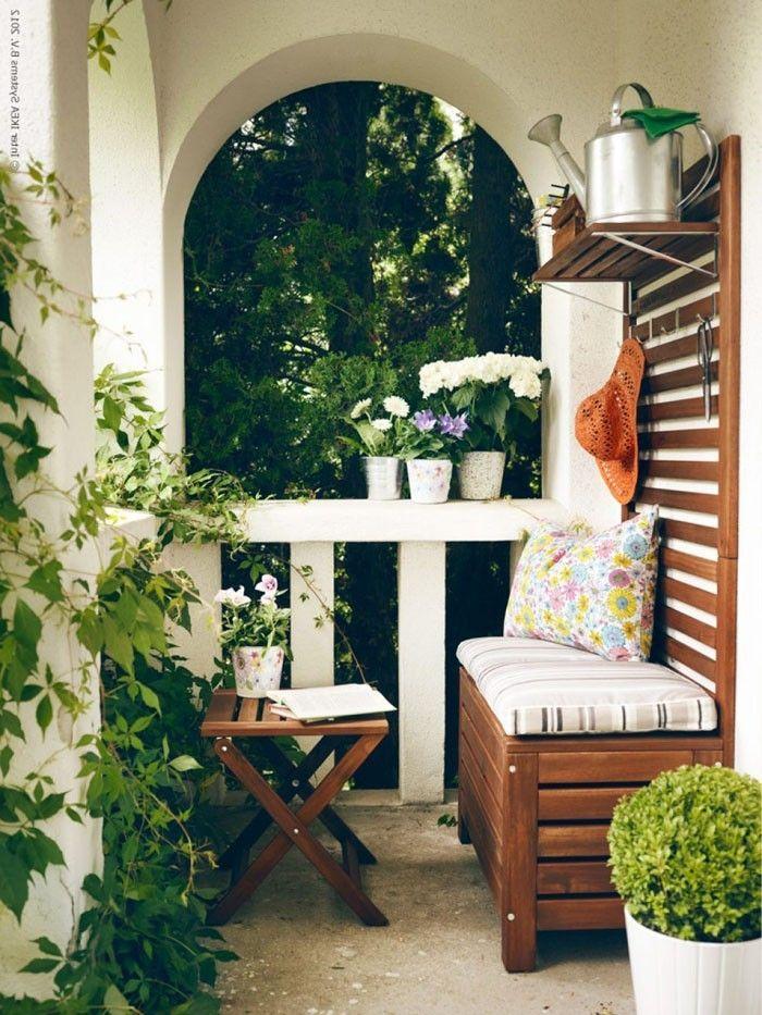 platzsparende moebel kleinen balkon gestalten coole ideen garten - kleines wohnzimmer ideen