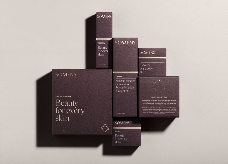 Distinct Visual Brand Language for Unisex Luxury Beauty