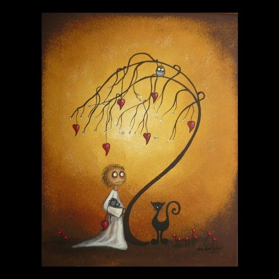 tree, whimsical