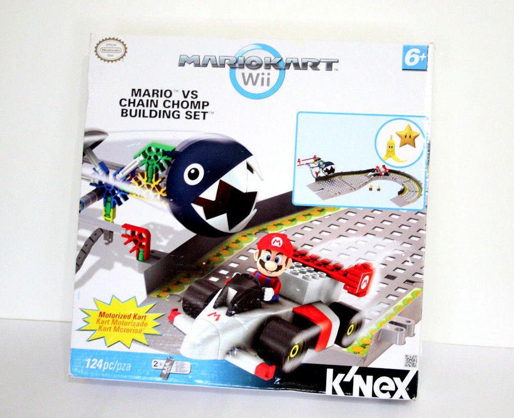 Donkey kong mario kart wii car tuning - K Nex Knex Wii Mario Kart Chain Chomp Building Set 38469 Nintendo Motorized