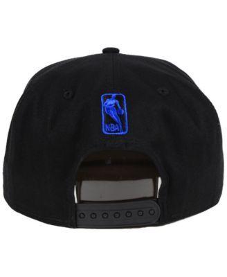 sports shoes cab49 7818d New Era Dallas Mavericks Retro Arch 9FIFTY Snapback Cap - Black Adjustable