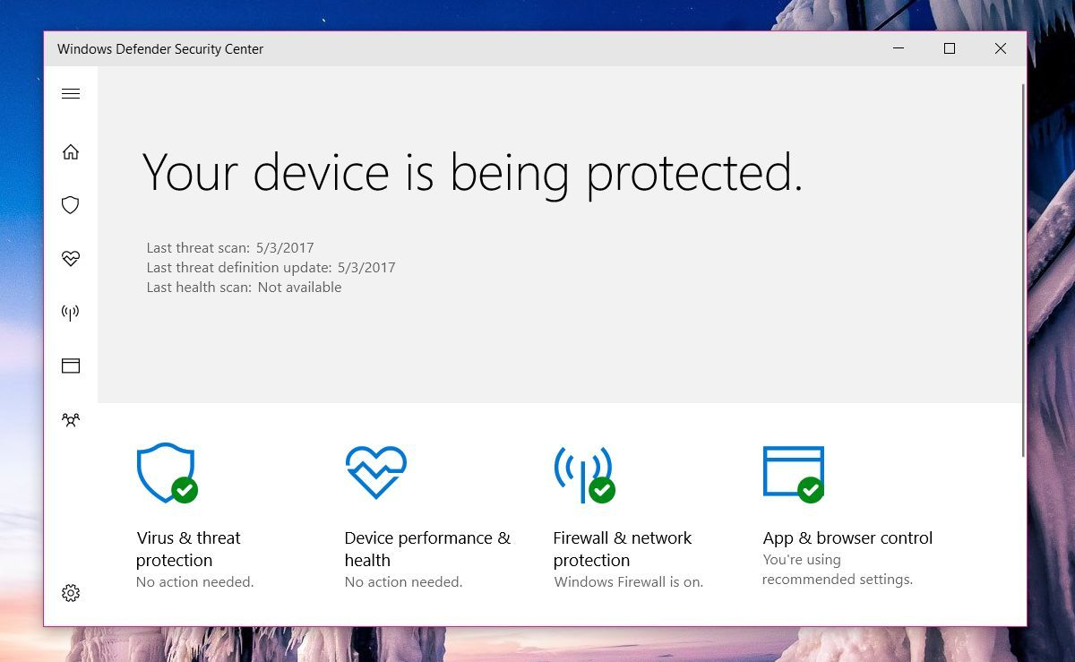 How To Fix Health Report Is Not Available In Windows Defender | Tech