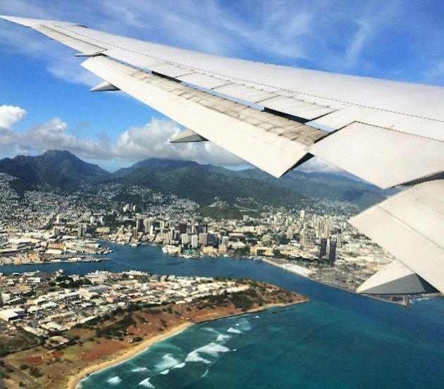 Awe Inspiring Scenic Views From Airplane Windows Insiders Hawaii Ibusinesslaw Wood Chair Design Ideas Ibusinesslaworg